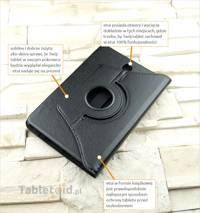 etui obrotowe do tabletu Samsung Galaxy Tab S2 8.0